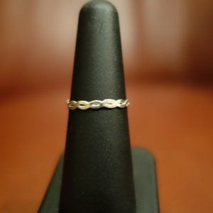 NEW Melissa Joy Manning braided sterling ring